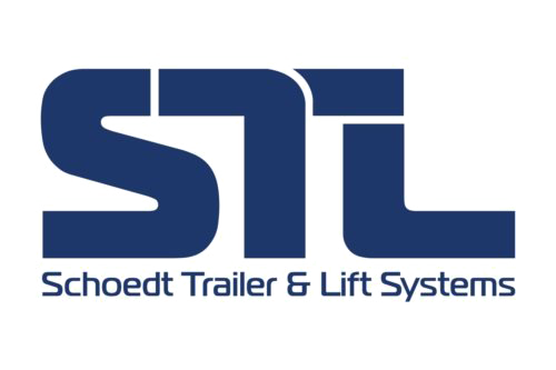Walking floor trailer, Schoedt Trailer & Lift systems logo